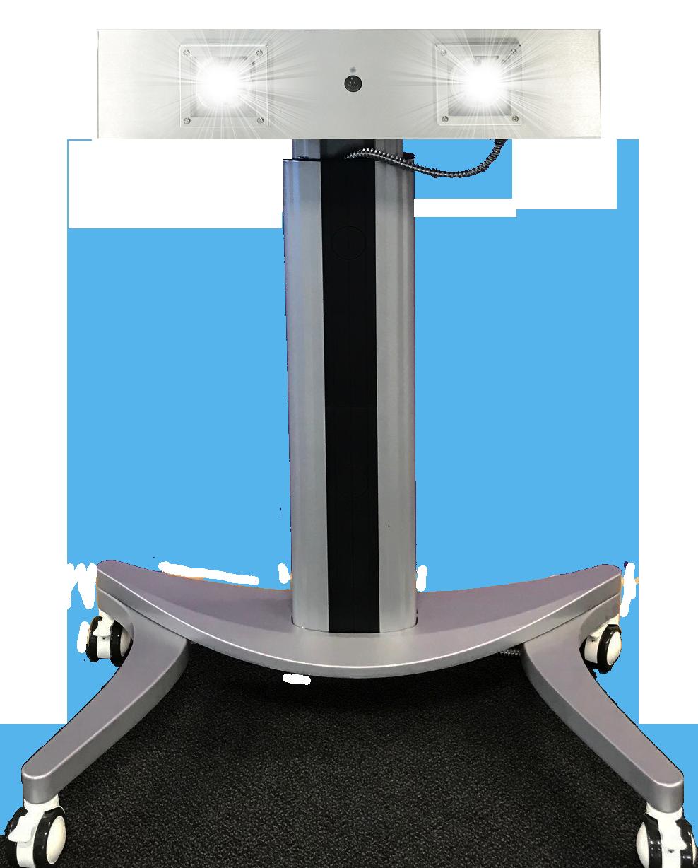 PURO Sentry M2-C UV Light – Portable UV Light Fixture on Casters