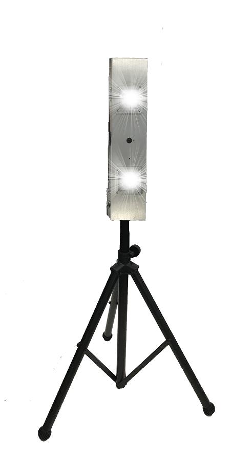 PURO Sentry M2-T UV Light – Portable UV Light Fixture on Tripod