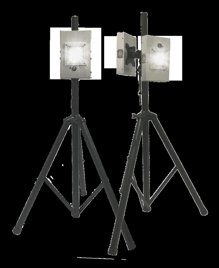 PURO Sentry M2F-T UV Light – Portable UV Dual Light Fixture on Tripod