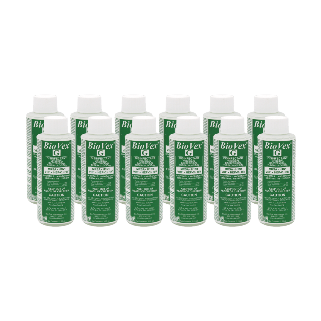 A Case of BioVex Disinfectant for Viruses – In Stock